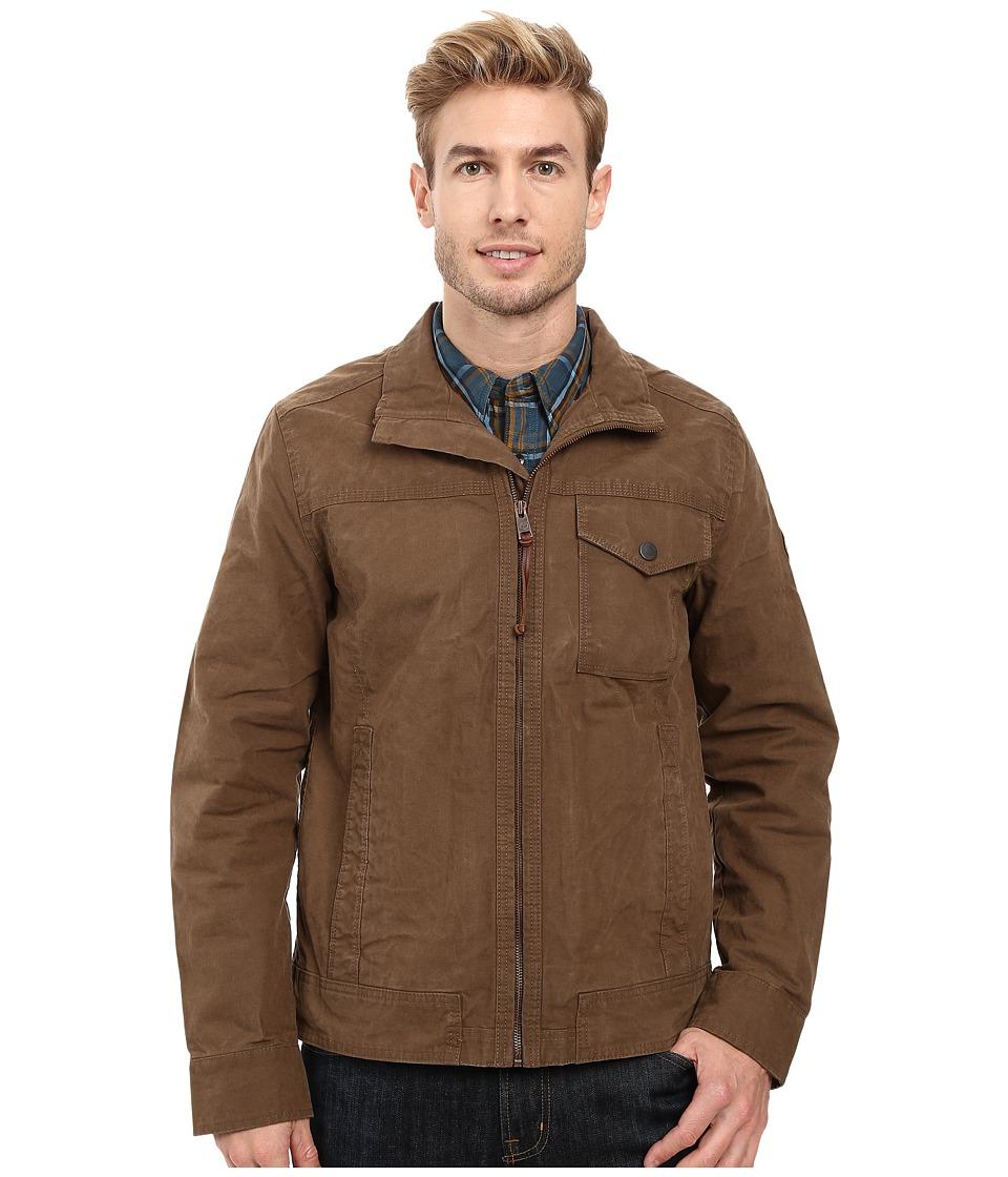 Timberland - Mount Davis Timeless Waxed Canvas Jacket (Shitake) Men's Coat