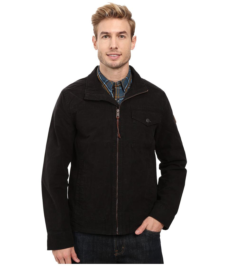 Timberland - Mount Davis Timeless Waxed Canvas Jacket (Black) Men's Coat