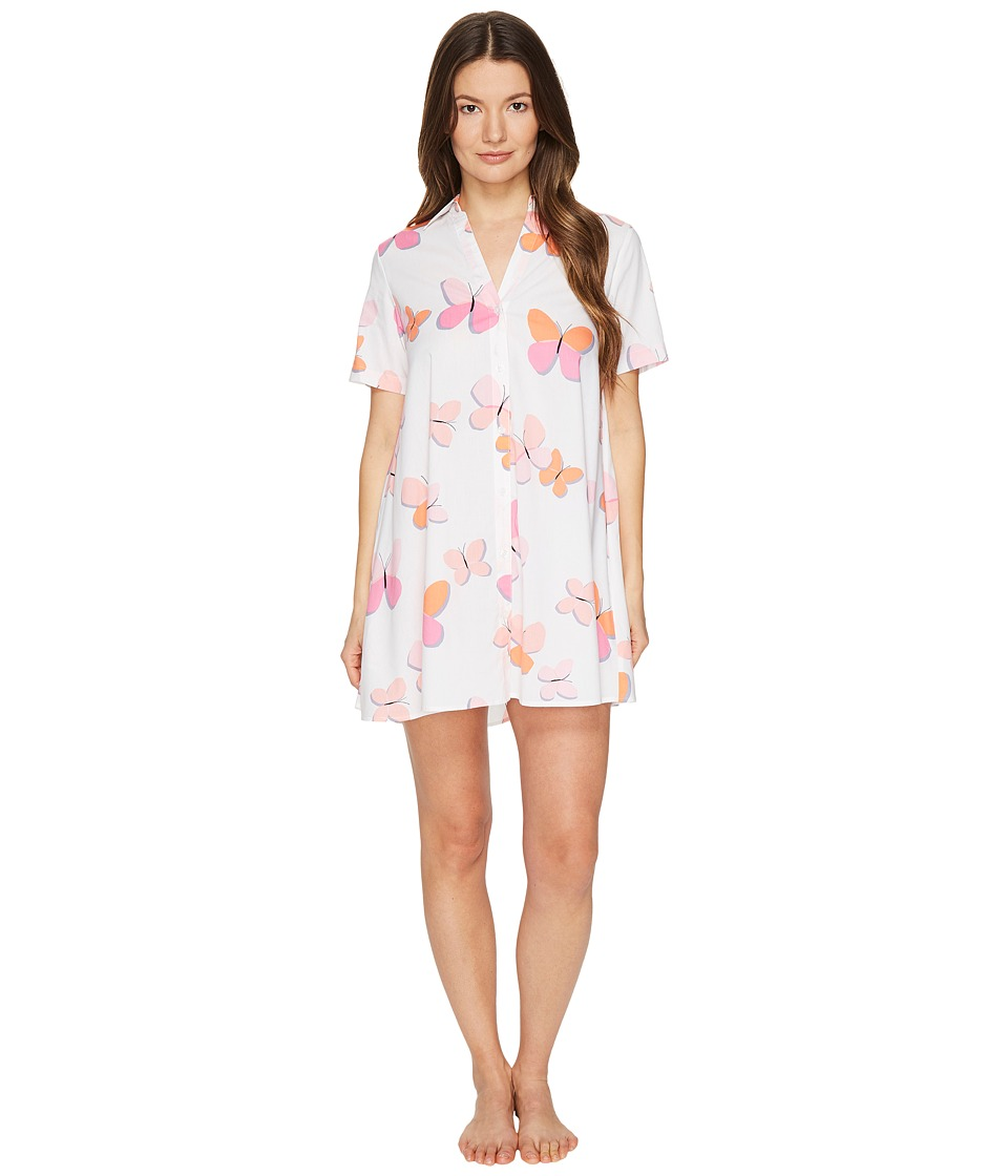 Kate Spade New York - Sleepshirt (Butterflies) Women's Pajama