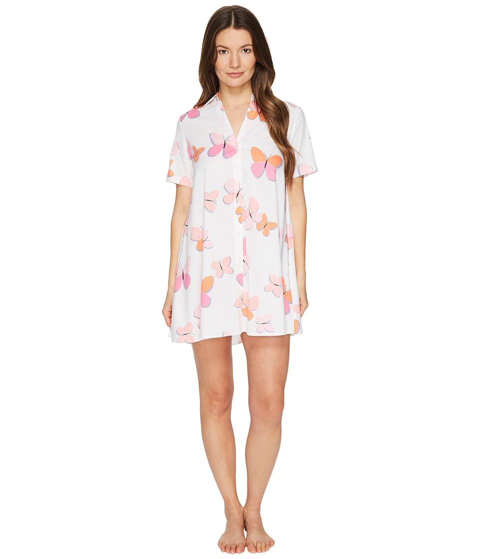 Kate Spade New York - Sleepshirt (Butterflies) Women's Pajama