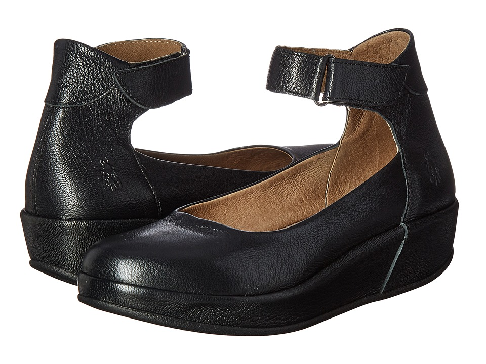 FLY LONDON - Bana661Fly (Black Mousse) Women's Shoes