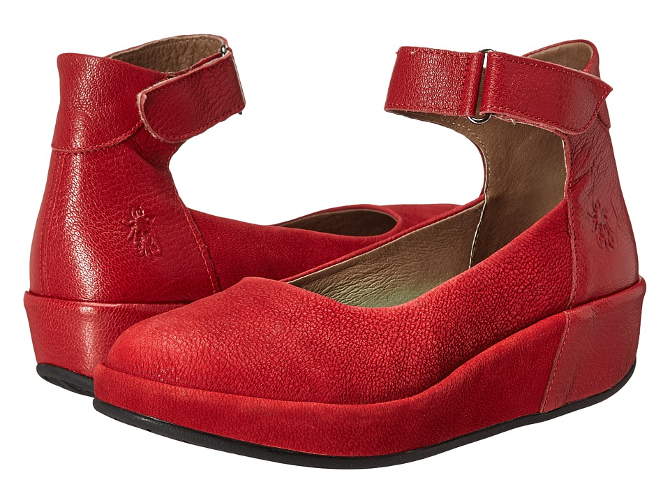 FLY LONDON - Bana661Fly (Lipstick Red Cupido/Mousse) Women's Shoes