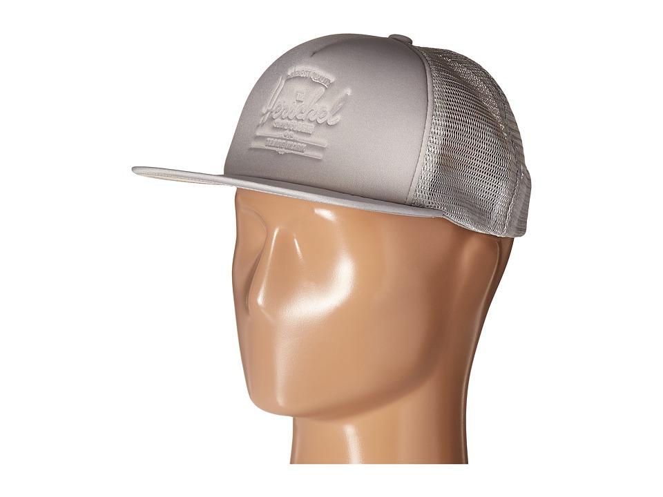 Herschel Supply Co. - Whaler Mesh (Wolf Grey Deboss) Caps