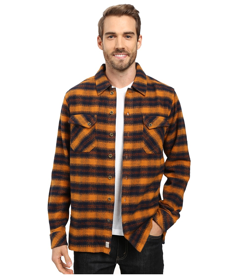 Timberland - Warner River Overshirt (Timberland Wheat Yarn-Dye) Men's Clothing