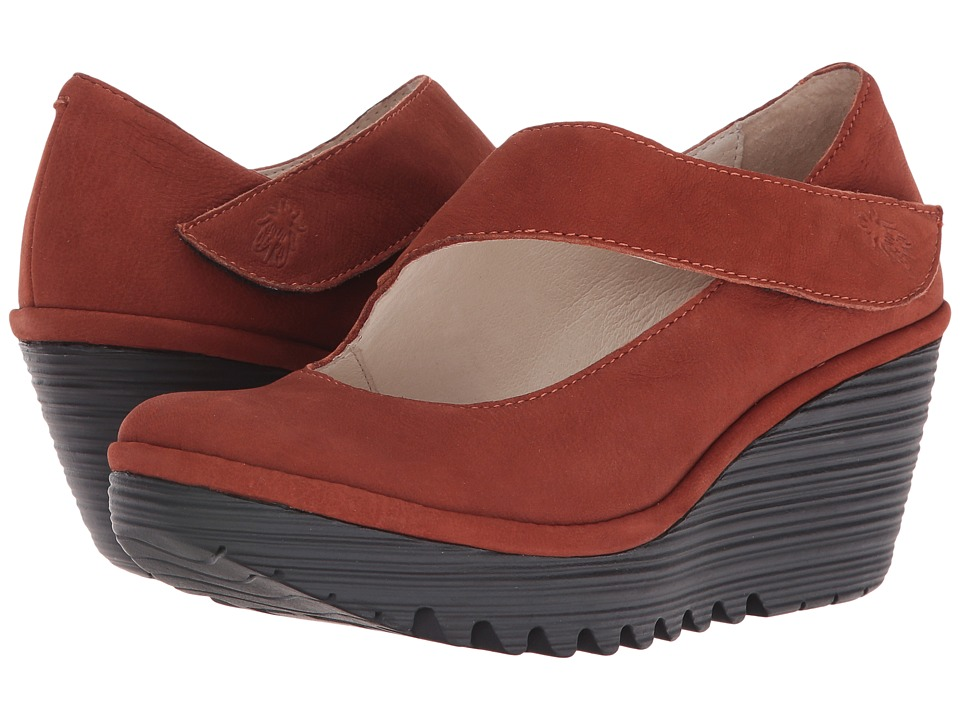 FLY LONDON - Yasi682Fly (Brick Cupido) Women's Shoes