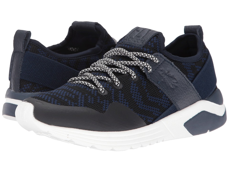FLY LONDON - Salo825Fly (Blue Knit/Leather) Women's Shoes