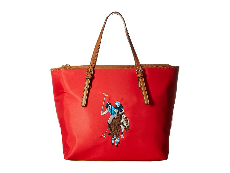 U.S. POLO ASSN. - Chester Tote (Rogue Red) Tote Handbags