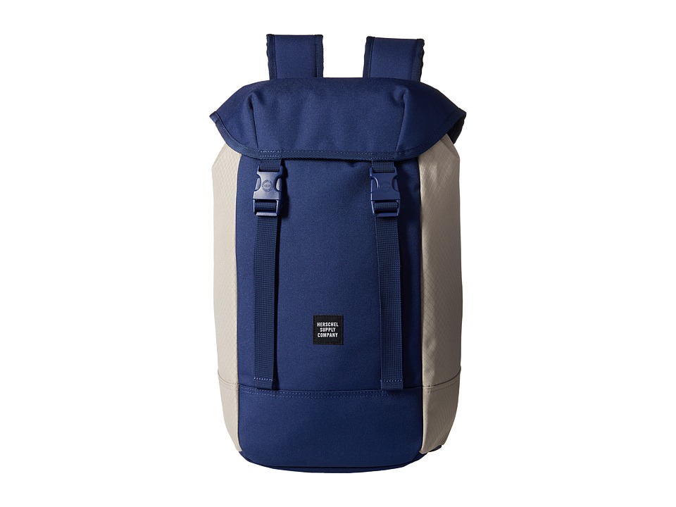 Herschel Supply Co. - Iona (Twilight Blue/Pelican) Backpack Bags