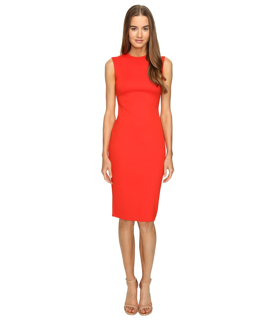 McQ - Cut Out Bodycon Dress (Flame) Women's Dress