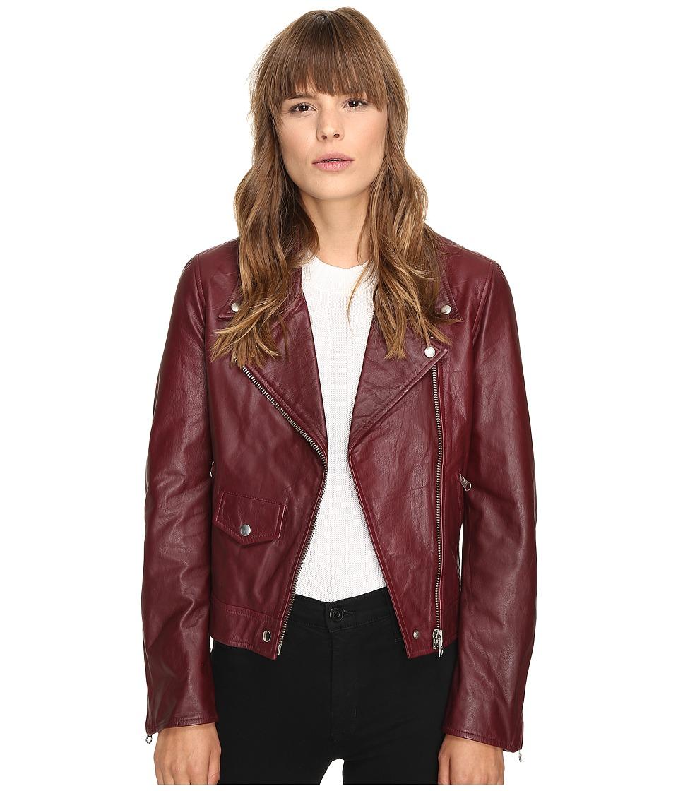 McQ - Casual Biker (Port) Women's Coat