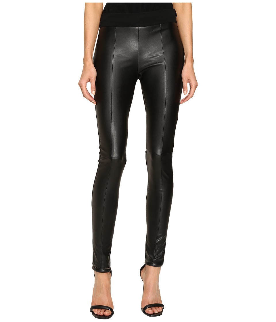 McQ - Contour Leggings (Darkest Black 1) Women's Casual Pants