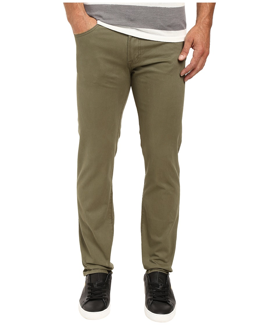 U.S. POLO ASSN. - Corduroy Skinny Fit Five-Pocket Jeans in Olive Dusk (Olive Dusk) Men's Jeans