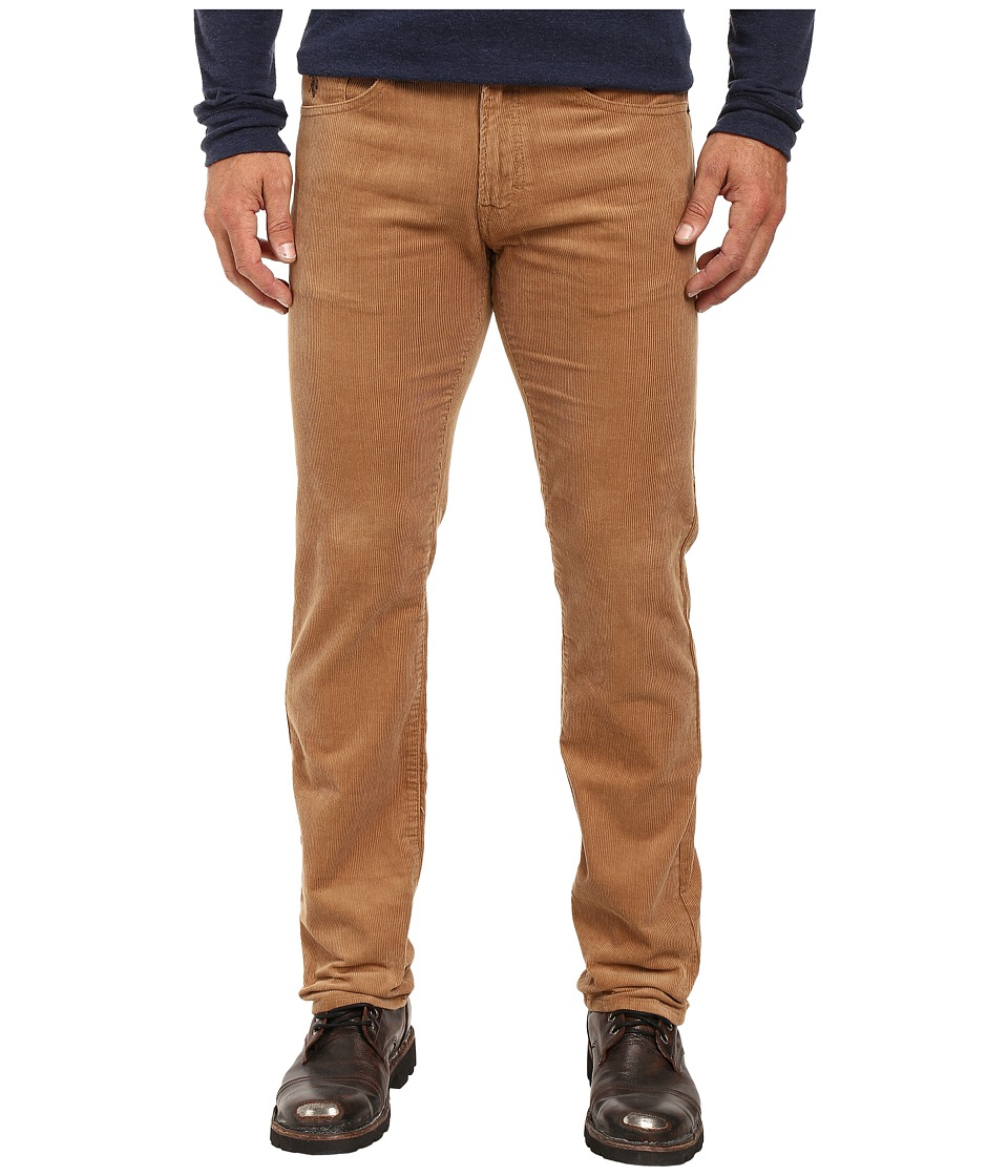 U.S. POLO ASSN. - Slim Straight Corduroy Five-Pocket Jeans in Camel Coat (Camel Coat) Men's Jeans