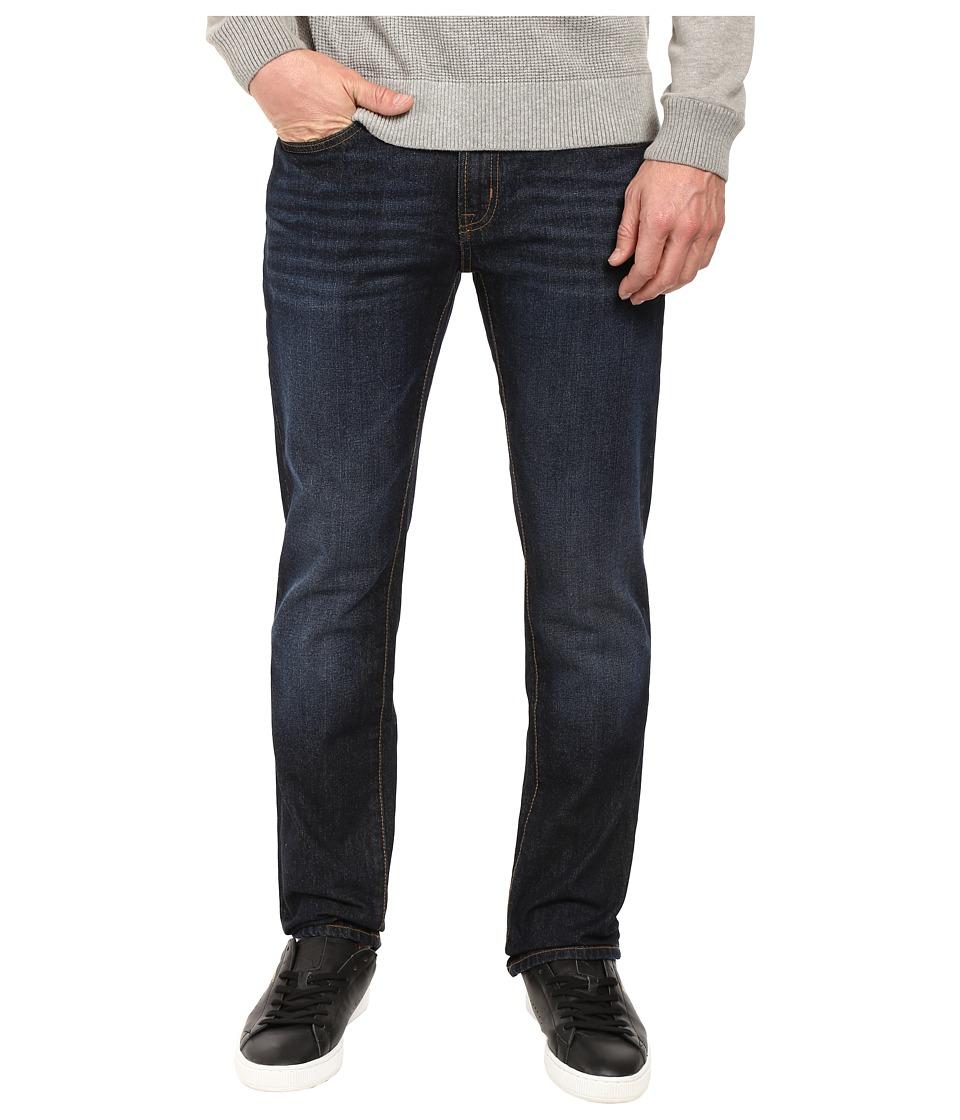 U.S. POLO ASSN. - Rigid Slim Straight Five-Pocket Denim Jeans in Blue (Blue) Men's Jeans