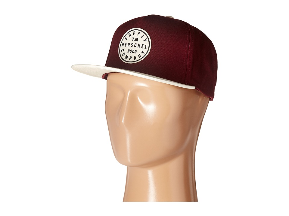 Herschel Supply Co. - TM (Windsor Wine/Natural) Caps