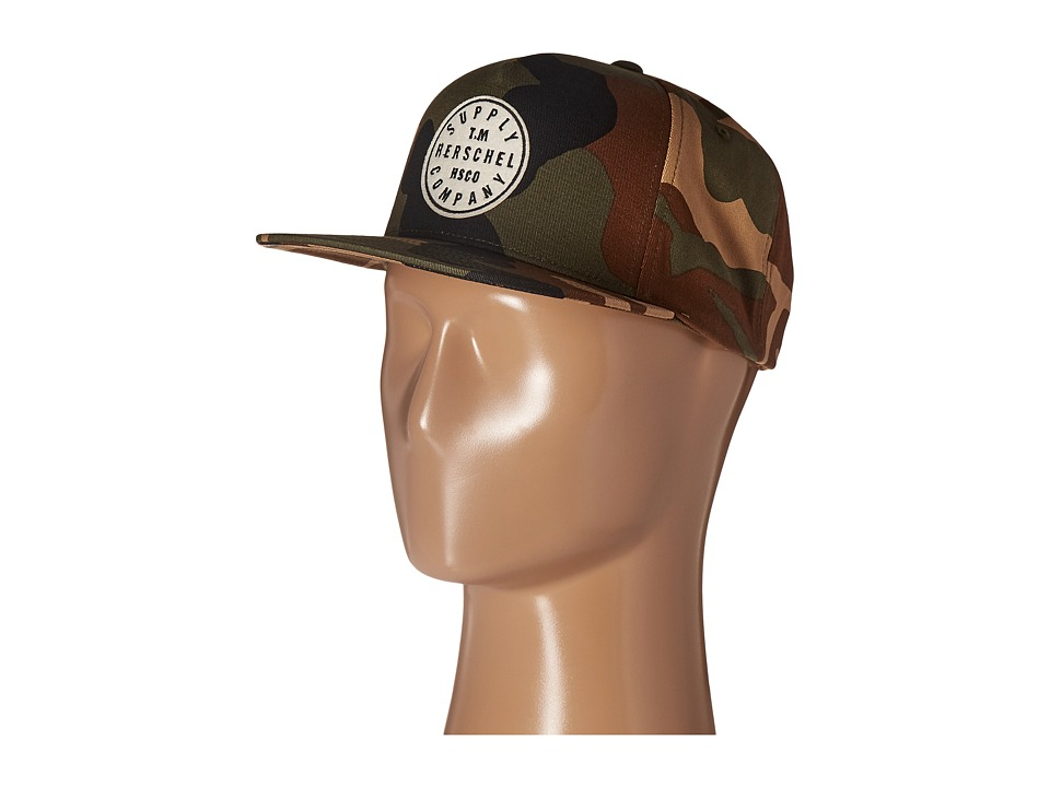 Herschel Supply Co. - TM (Woodland Camo) Caps