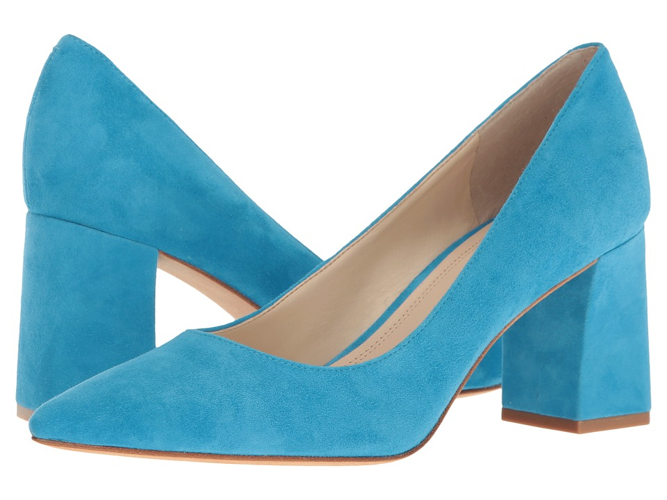 Marc Fisher LTD - Zala (Medium Blue Suede) Women's Shoes