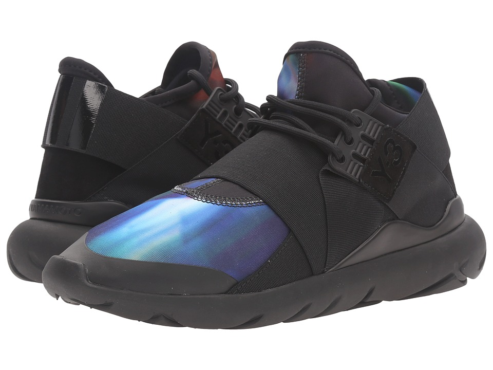 adidas Y-3 by Yohji Yamamoto - Qasa Elle Lace (Detritus/Detritus/Core Black) Women's Shoes