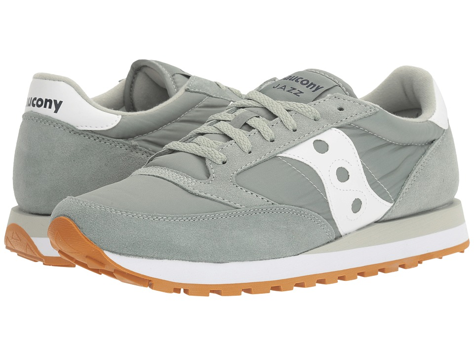 Saucony Originals - Jazz Original (Light Green/White) Men's Classic Shoes