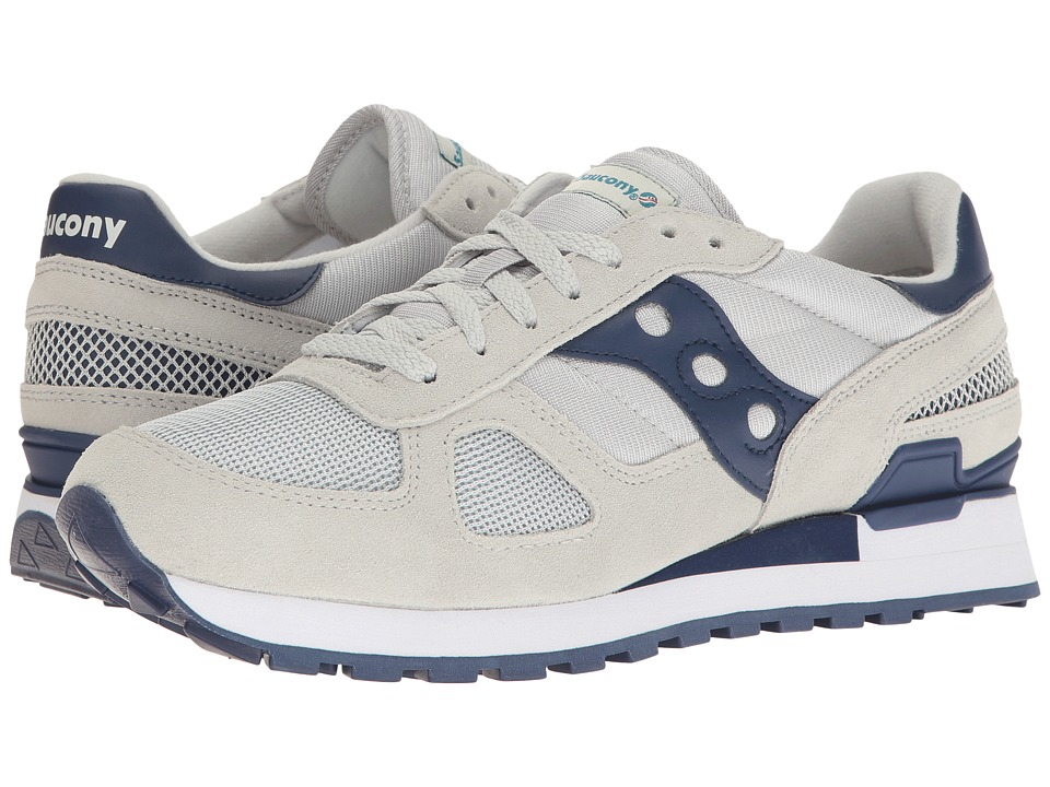 Saucony Originals - Shadow Original (Grey/Navy 1) Men's Classic Shoes