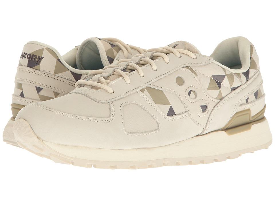Saucony Originals - Shadow O School Spirit (Beige/Green) Men's Classic Shoes
