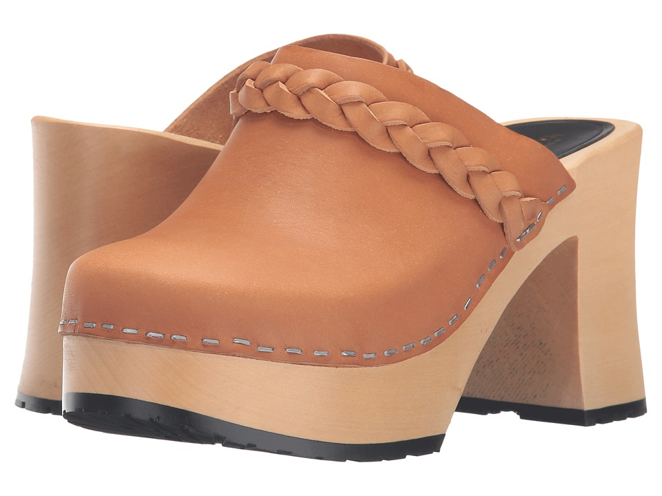 Swedish Hasbeens - Laila (Nature) Women's Clog Shoes