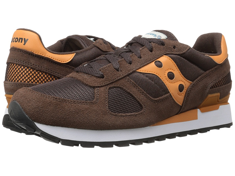 Saucony Originals - Shadow Original (Brown/Orange) Classic Shoes