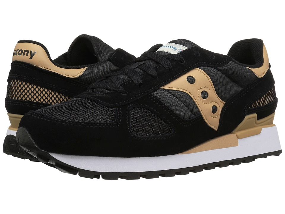 Saucony Originals - Shadow Original (Black/Tan) Classic Shoes