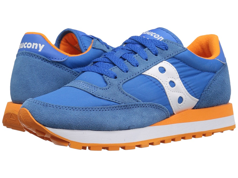 Saucony Originals - Jazz Original (Blue/Orange) Women's Classic Shoes