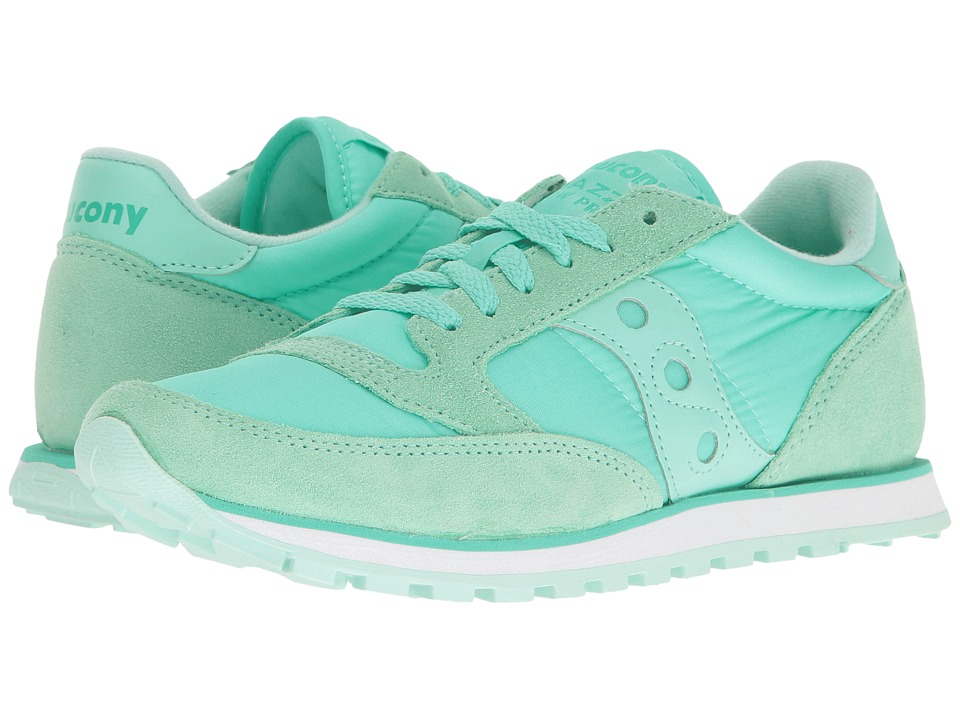 Saucony Originals - Jazz Low Pro (Mint) Women's Classic Shoes