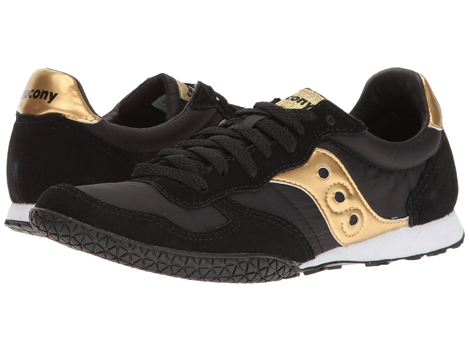 Saucony Originals - Bullet (Black/Bronze) Women's Classic Shoes