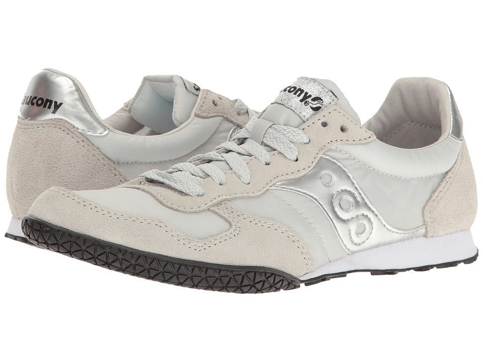 Saucony Originals - Bullet (Grey/Silver) Women's Classic Shoes