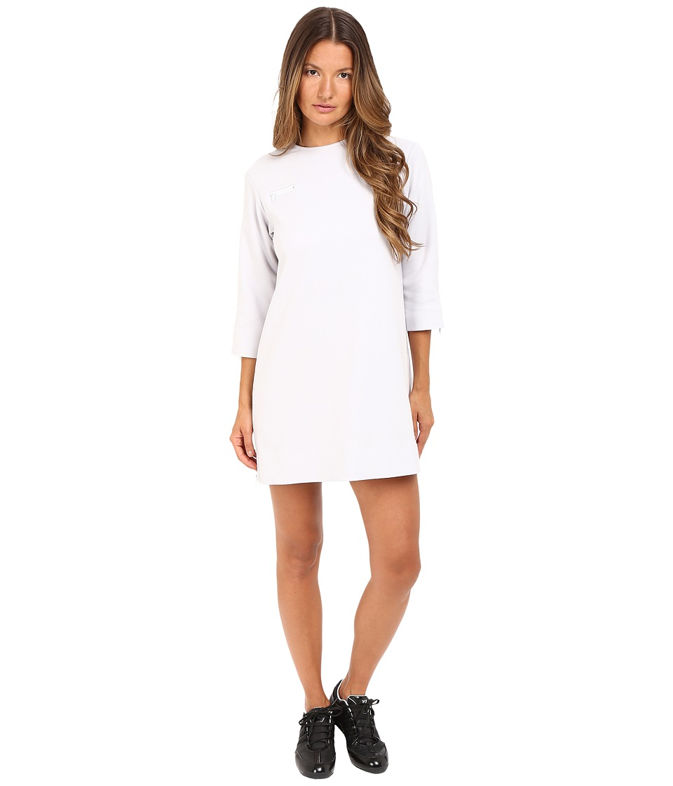 adidas Y-3 by Yohji Yamamoto - Flannel Dress (Crystal White) Women's Dress