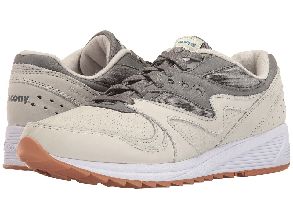 Saucony Originals - Grid 8000 (Light Grey/Dark Grey) Men's Classic Shoes