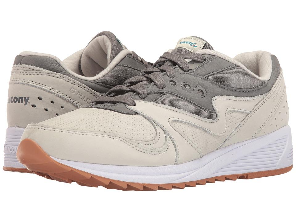 Saucony Originals - Grid 8000 (Light Grey/Dark Grey) Men's Classic Shoes