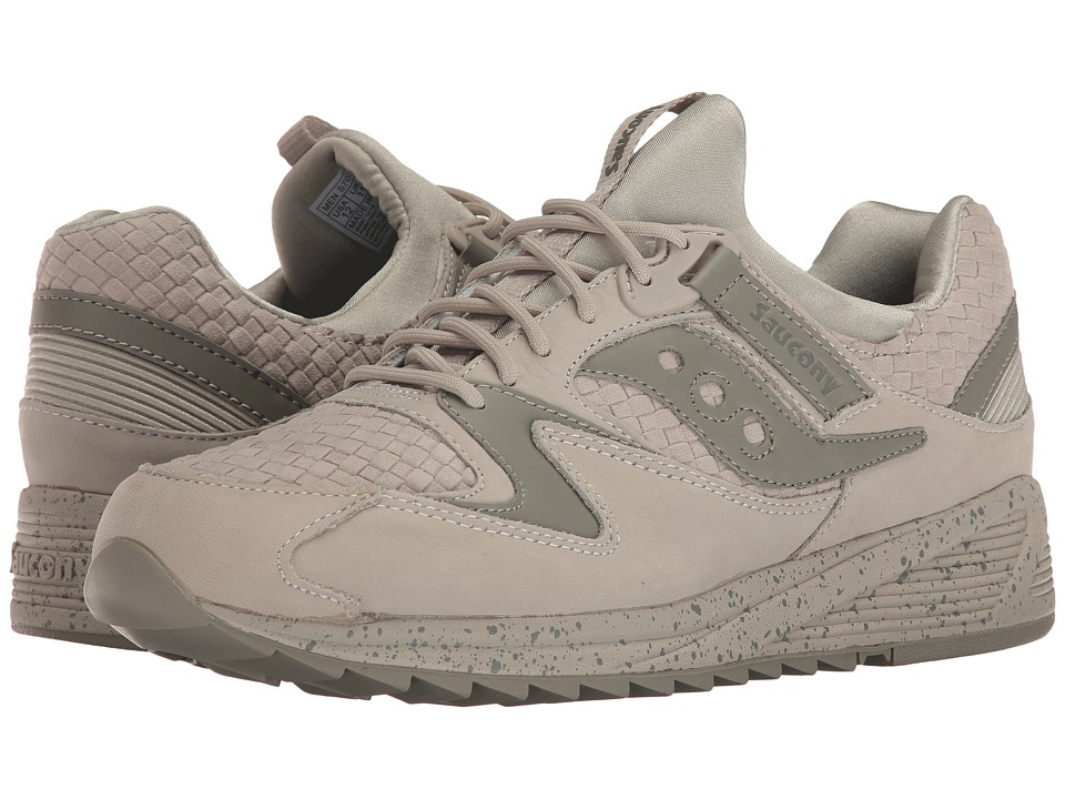 Saucony Originals - Grid 8500 Weave (Grey) Men's Classic Shoes
