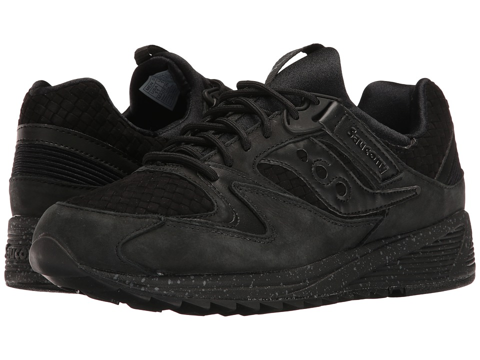 Saucony Originals - Grid 8500 Weave (Black) Men's Classic Shoes