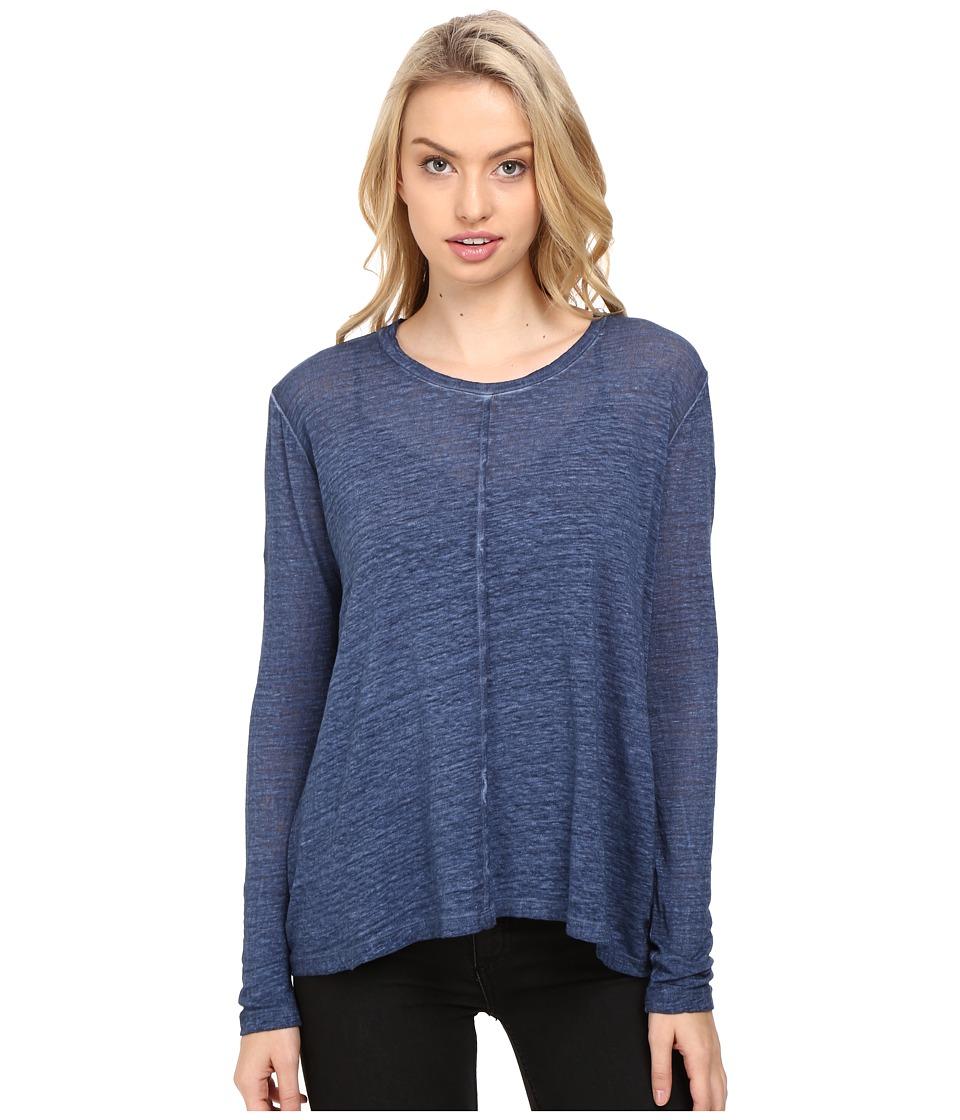 Young Fabulous & Broke - Bonnet Top (Midtown Blue) Women's Clothing