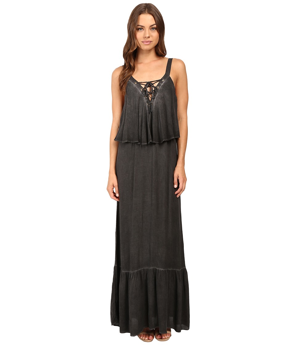 Young Fabulous & Broke - Copal Maxi (Charcoal) Women's Dress