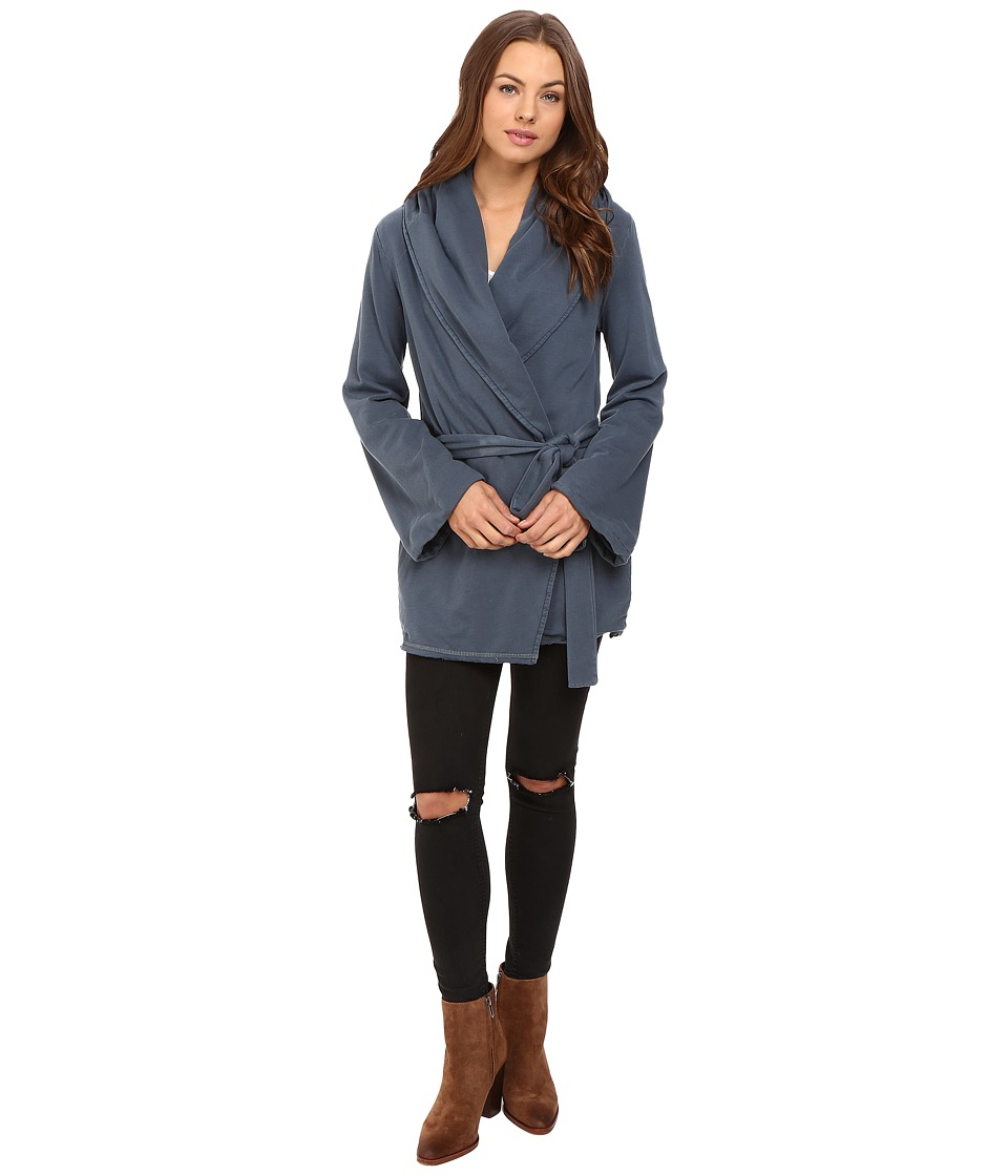 Young Fabulous & Broke - Blanket Coat (Indigo) Women's Coat