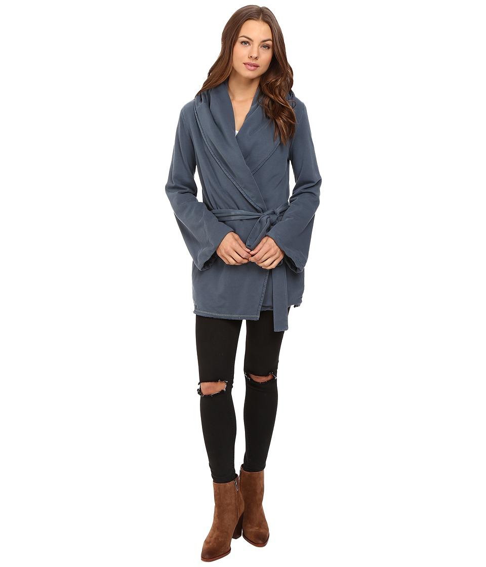 Young Fabulous & Broke - Blanket Coat (Indigo) Women's Coat