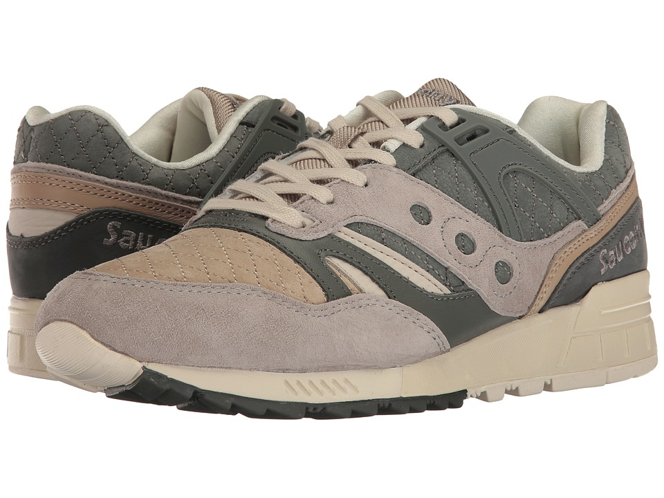 Saucony Originals - Grid SD Quilted (Charcoal/Tan) Men's Classic Shoes