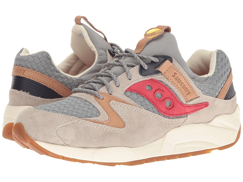 Saucony Originals - Grid 9000 (Grey) Men's Classic Shoes