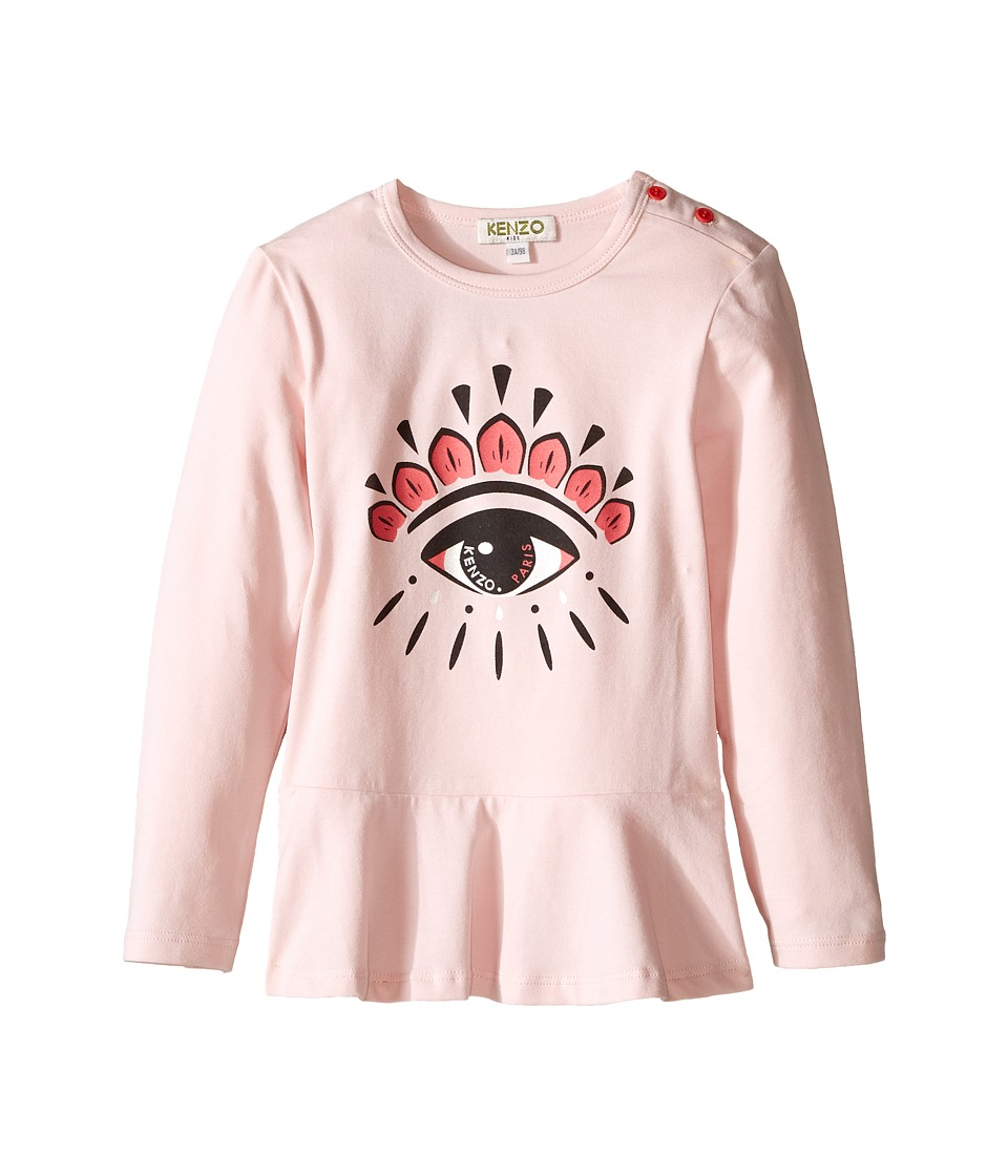 Kenzo Kids - Amina Tee Shirt (Infant/Toddler) (Light Pink) Girl's T Shirt