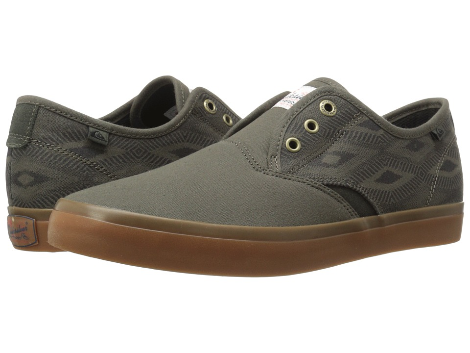 Quiksilver - Shorebreak Deluxe (Green/Green/Black 2) Men's Lace up casual Shoes