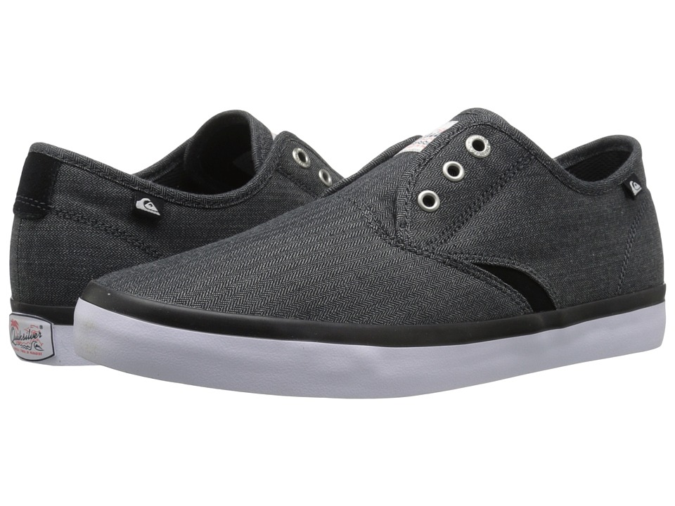 Quiksilver - Shorebreak Deluxe (Black/Black/White 2) Men's Lace up casual Shoes