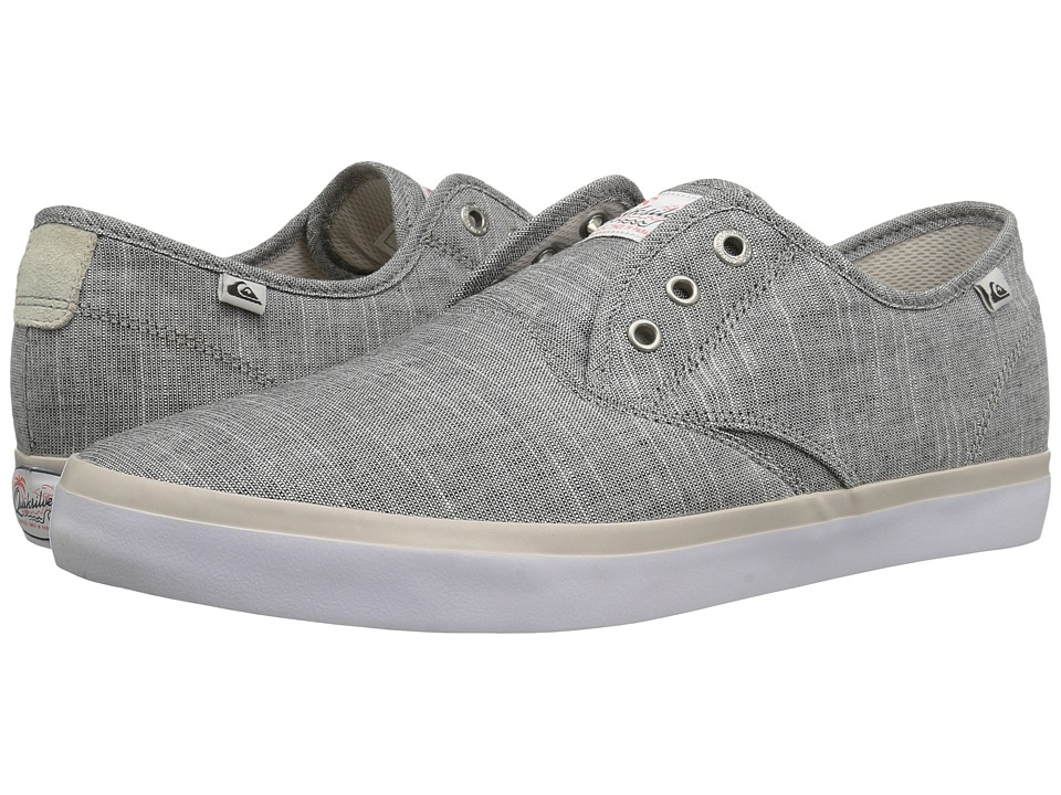 Quiksilver - Shorebreak Deluxe (Grey/White/Grey 2) Men's Lace up casual Shoes