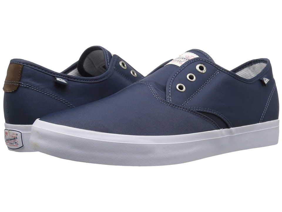 Quiksilver - Shorebreak Deluxe (Blue/White/Blue 2) Men's Lace up casual Shoes
