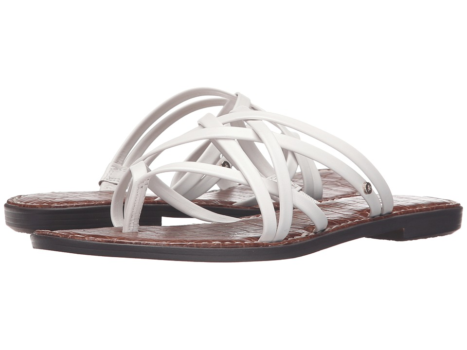 Sam Edelman Georgette Bright White Womens Sandals