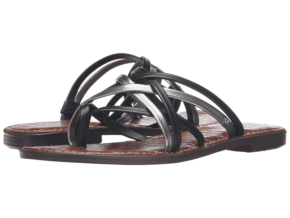 Sam Edelman Georgette Black-Pewter Womens Sandals
